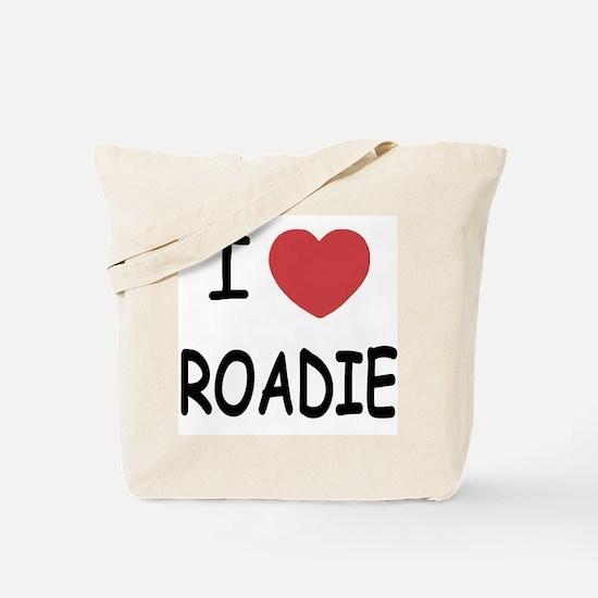 I heart ROADIE Tote Bag