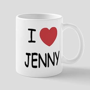 I heart JENNY Mug