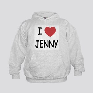 I heart JENNY Kids Hoodie