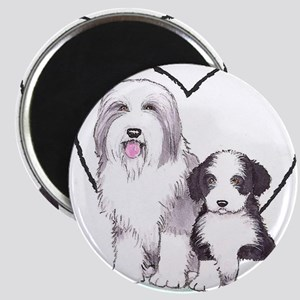 Bearded Collies Magnet