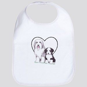 Bearded Collies Bib