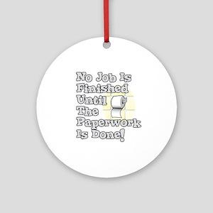 Paperwork Ornament (Round)