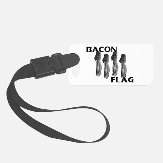 Bacon Flag Luggage Tag