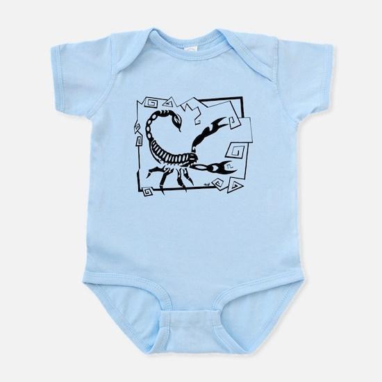 Scorpio Tribal Tattoo Infant Bodysuit