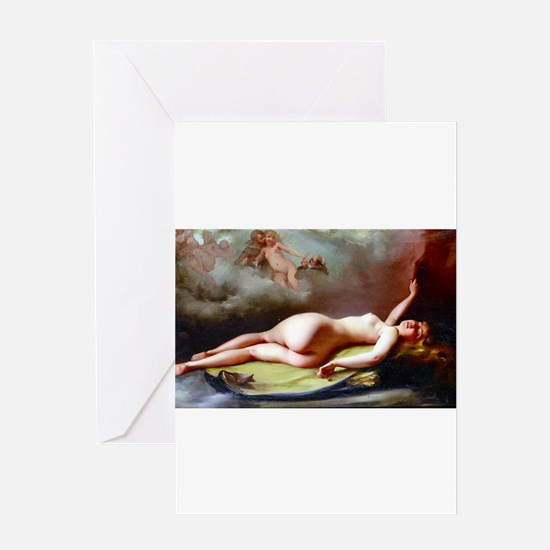 Falero - Reclining Nude Greeting Card