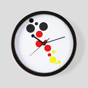 Germany Dots Wall Clock