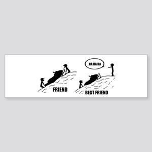 Friend / Best Friend Bumper Sticker