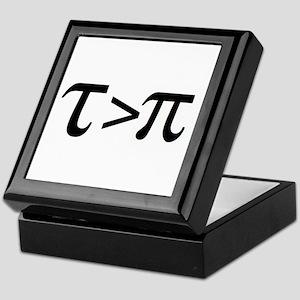 Tau Greater than Pi Keepsake Box