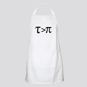 Tau Greater than Pi Apron