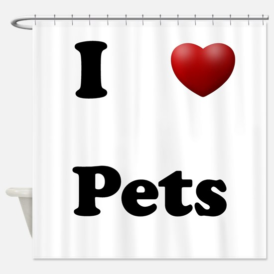Pets Shower Curtain