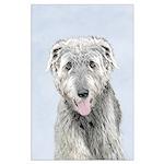 Irish Wolfhound Large Poster