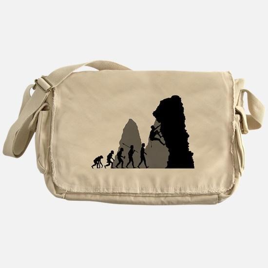 Rock Climbing Messenger Bag