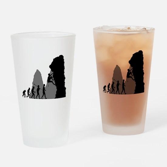 Rock Climbing Drinking Glass