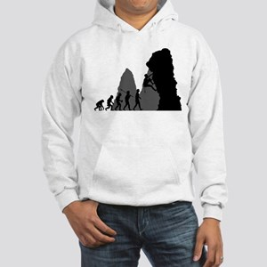 Rock Climbing Hooded Sweatshirt