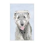 Irish Wolfhound Mini Poster Print