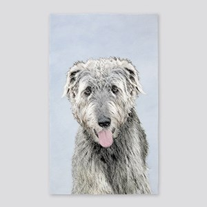 Irish Wolfhound Area Rug