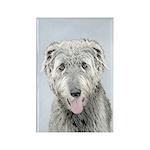Irish Wolfhound Rectangle Magnet (10 pack)