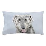 Irish Wolfhound Pillow Case