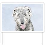 Irish Wolfhound Yard Sign