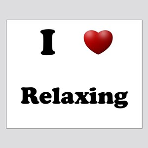 Relaxing Small Poster
