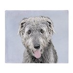 Irish Wolfhound Throw Blanket