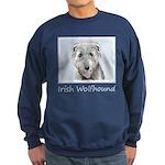 Irish Wolfhound Sweatshirt (dark)