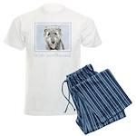 Irish Wolfhound Men's Light Pajamas