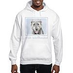 Irish Wolfhound Hooded Sweatshirt