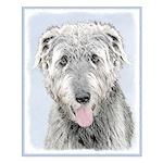 Irish Wolfhound Small Poster