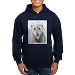 Irish Wolfhound Hoodie (dark)
