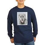 Irish Wolfhound Long Sleeve Dark T-Shirt