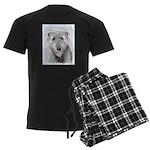 Irish Wolfhound Men's Dark Pajamas