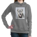 Irish Wolfhound Women's Hooded Sweatshirt