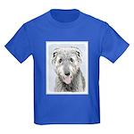 Irish Wolfhound Kids Dark T-Shirt