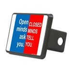 Minds Rectangular Hitch Cover