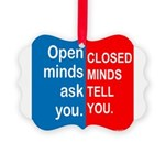 Minds Picture Ornament