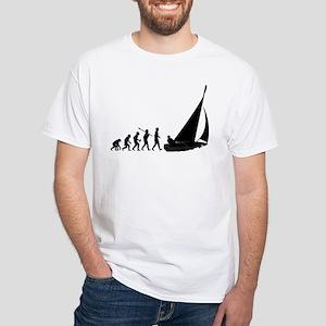 Sailing White T-Shirt