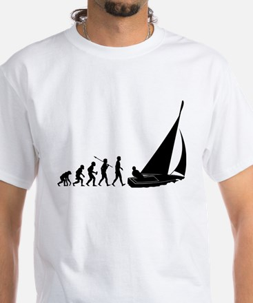 Sailing White T-Shirt