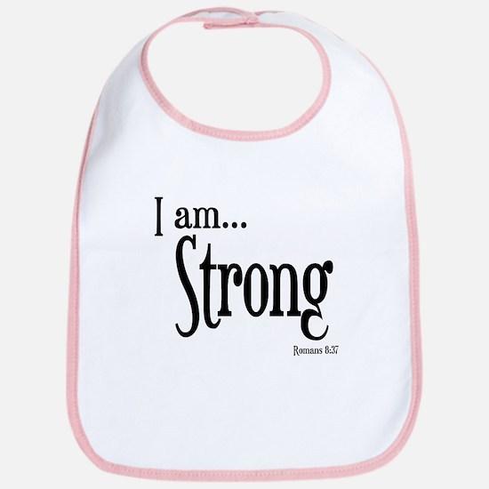 I am Strong Romans 8:37 Bib