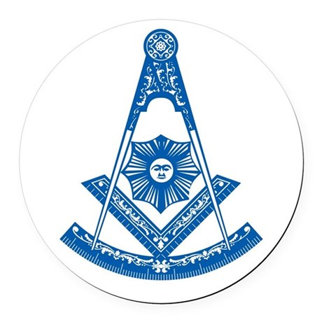 Masonic Past Master Car Magnet