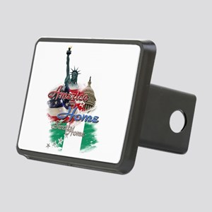 USA - Naija: Rectangular Hitch Cover