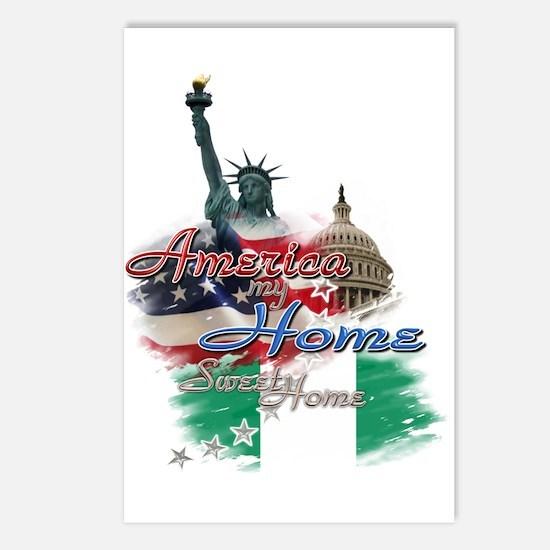 USA - Naija: Postcards (Package of 8)