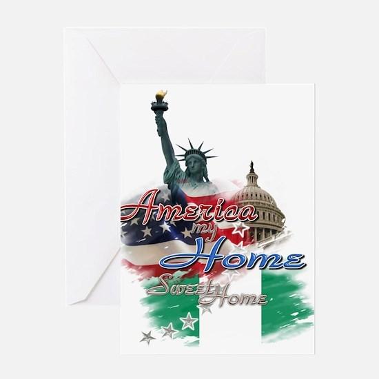 USA - Naija: Greeting Card