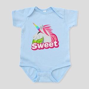 Emoji Unicorn Sweet Infant Bodysuit