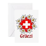 Gruezi Greeting Cards (Pk of 10)