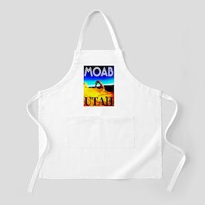 Moab, Utah BBQ Apron