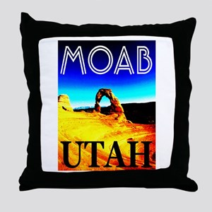 Moab, Utah Throw Pillow