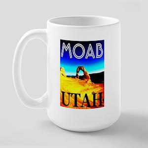 Moab, Utah Large Mug