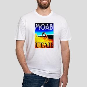 Moab, Utah Fitted T-Shirt