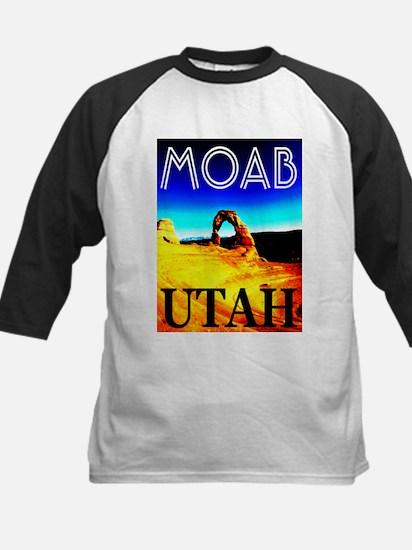 Moab, Utah Kids Baseball Jersey